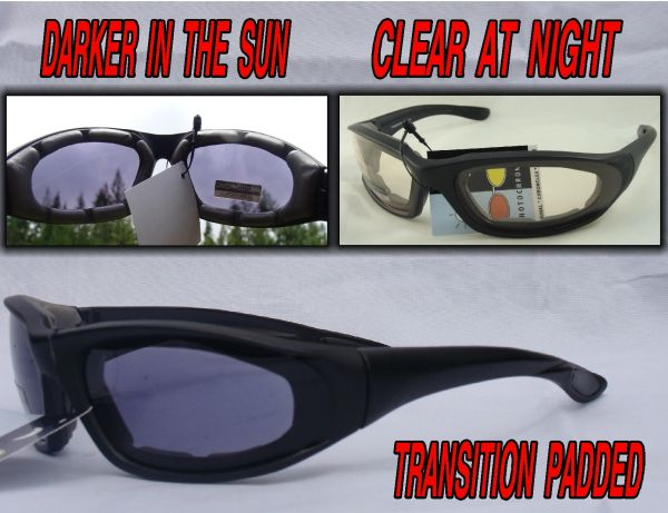 PADDED TRANSITION LENS DARKER TO CLEAR 4728SSBR