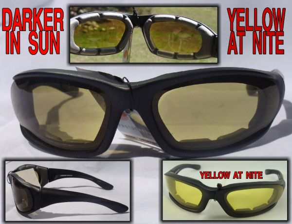 PADDED TRANSITION LENS - DARKER - YELLOW # 4728SS/ND