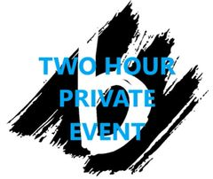 TWO HOUR Private Event Deposit