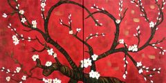 """Valentine Cherry Blossom"" - Friday, Feb 14 