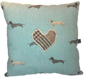 Pillow for dogs with Dachshunds