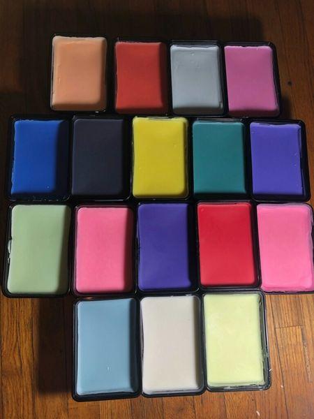 All 17 one pound ez pour wax single color