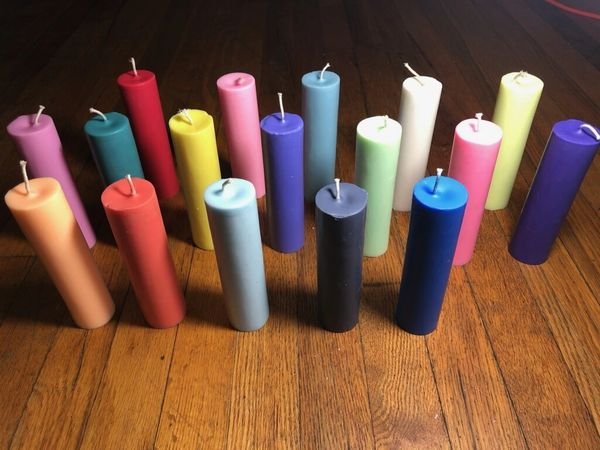 All 17 candles single color