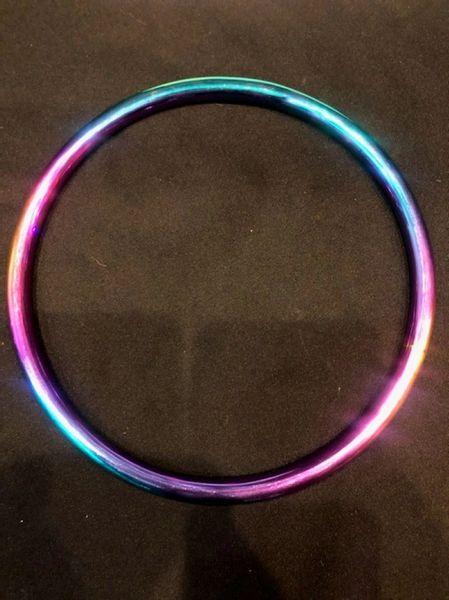 Rainbow stainless steel shibari suspension ring