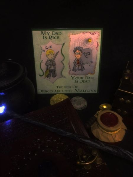 The Best of Draco and the Malfoys - Wizard Rock CD