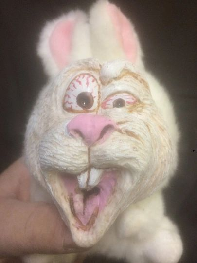Demented Easter Bunny- Hare Brained!