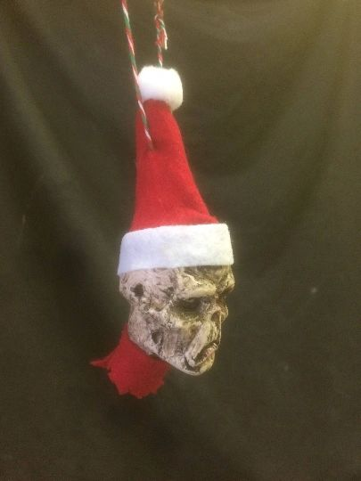 Zombie Head Ornament