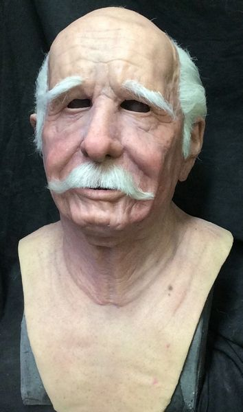 Deluxe Ernie Old Man Mask