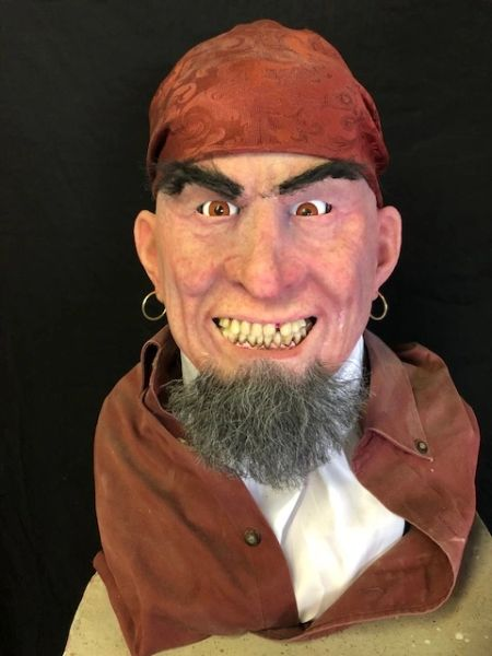 In Stock - Pirate Display Bust