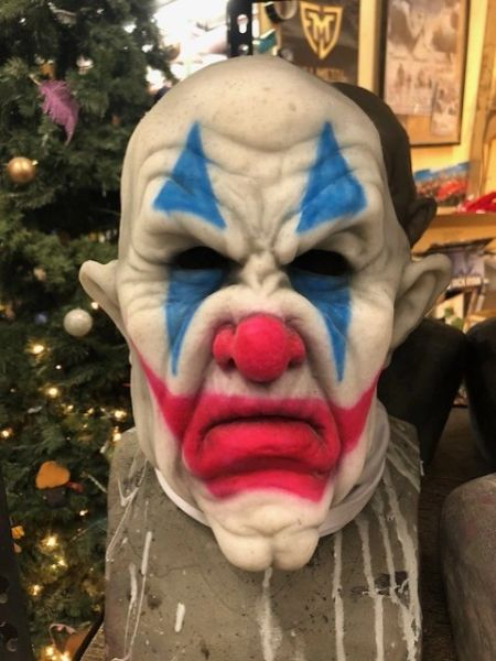 In Stock Cranky the Clown Face Mask
