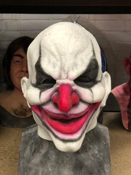 In Stock Clown Half Mask