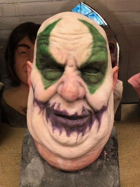 In Stock Fatty the Clown Half Mask