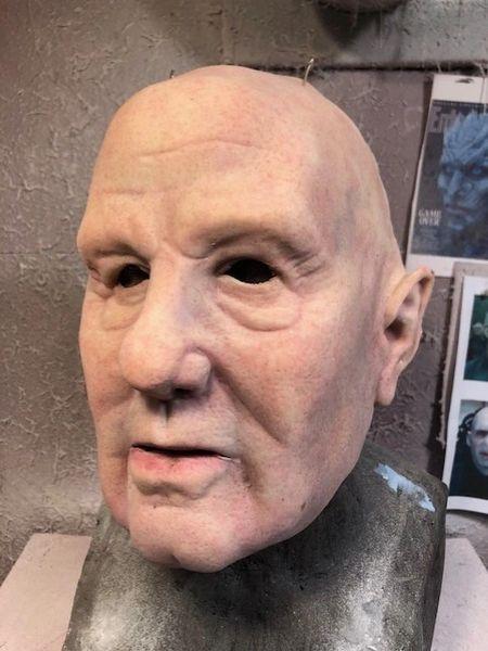 Average older guy Face Mask
