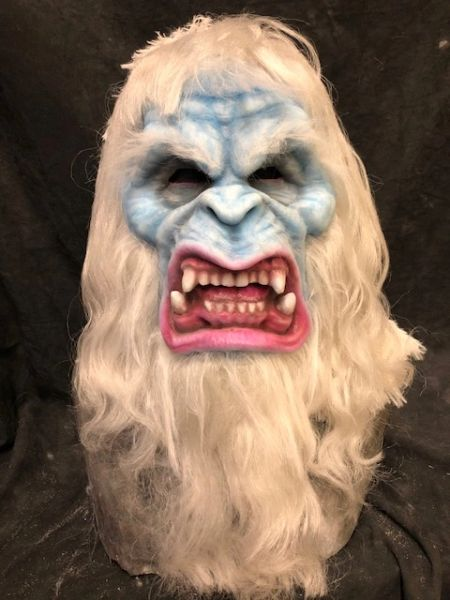 In Stock Yetti Face Mask with full hair