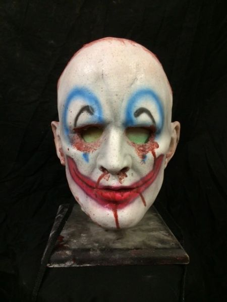 Skinned Face- Clown Paint