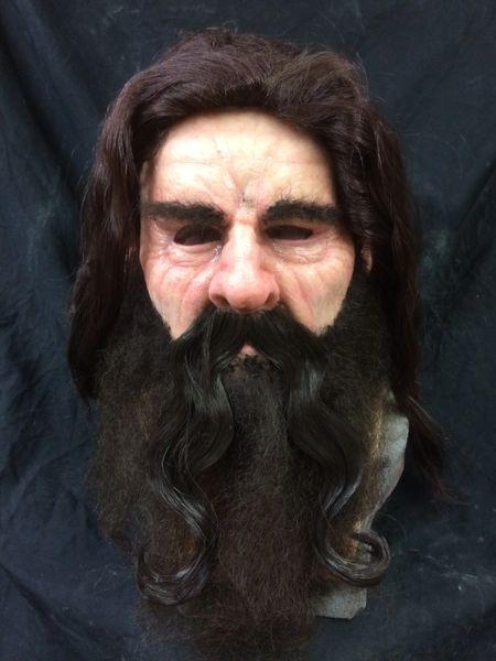Mustache Long wavy