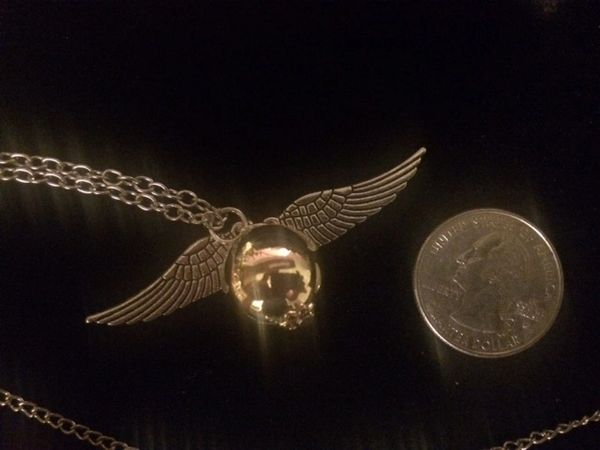 Necklace- Golden Snitch