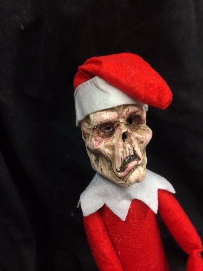The Creeps - Zombie Elf near the shelf