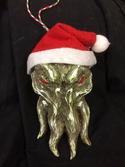 Christmathulhu Ornament