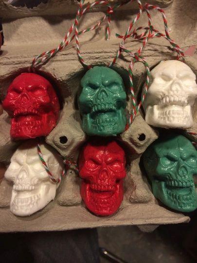 Skull set Ornament