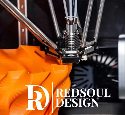 Redsoul Design - 3D Printing a prototype