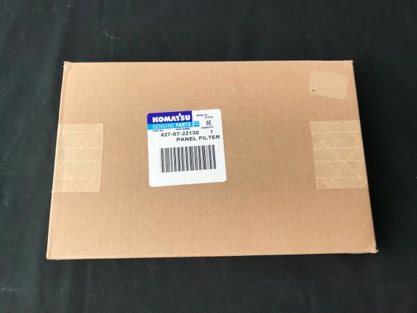 Komatsu 427-07-22130 Panel Filter Genuine Parts NEW IN BOX