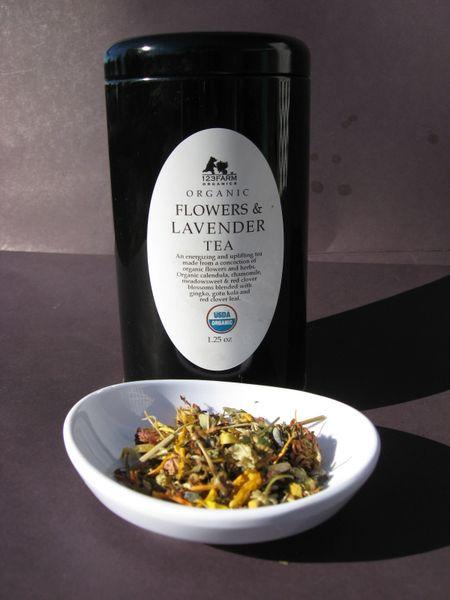 Organic Flowers & Lavender Tea