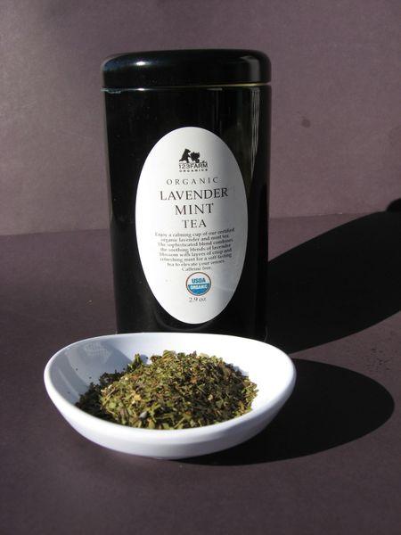 Organic Lavender Mint Tea