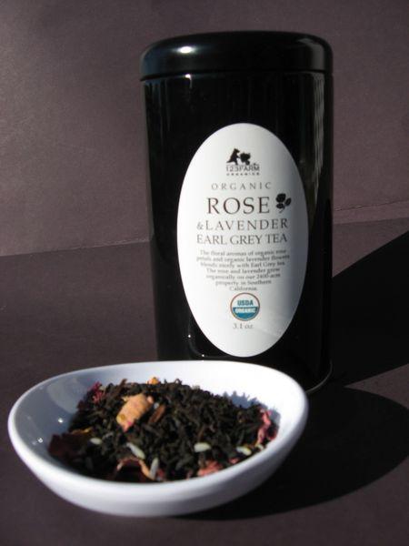 Organic Rose & Lavender Earl Grey Tea