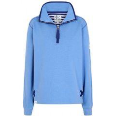 LJ3 - Ladies 1/4 Zip Sweatshirt Periwinkle