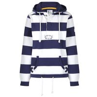 SS20LJ36 - Ladies Hooded Stripe Sweatshirt Twilight