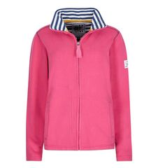 LJ33 - Ladies Full Zip Sweatshirt Lipstick