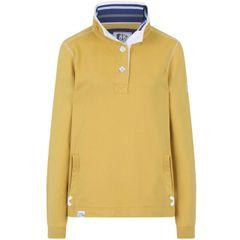 LJ5 - Ladies Slim Fit Button Neck Gorse