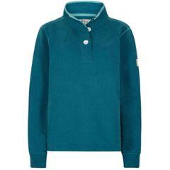 LJ5 - Ladies Slim Fit Button Neck Legion Blue