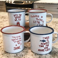 Enamel ware Summer Mugs