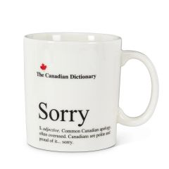 Cdn Dictionary Mug - Sorry