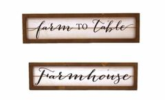 Farm to Table/Farmhouse Wall Decor
