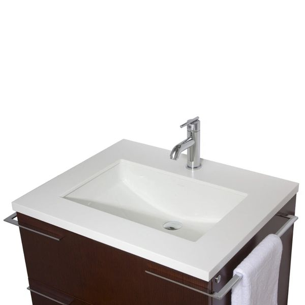 31 Inch Single Bathroom Vanity With Mirror And Lighting