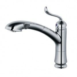 Kitchen Faucet With Pull Out Spray In Brushed Nickel 1116