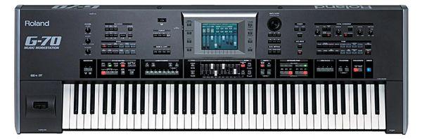 Roland g70 keyboard persian style
