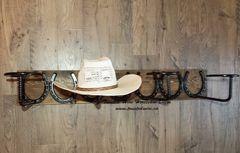 4 place horizontal hat rack