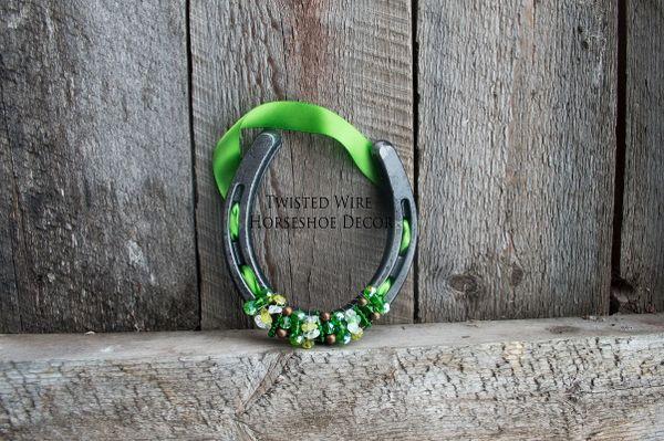 Lucky Horseshoe- Green