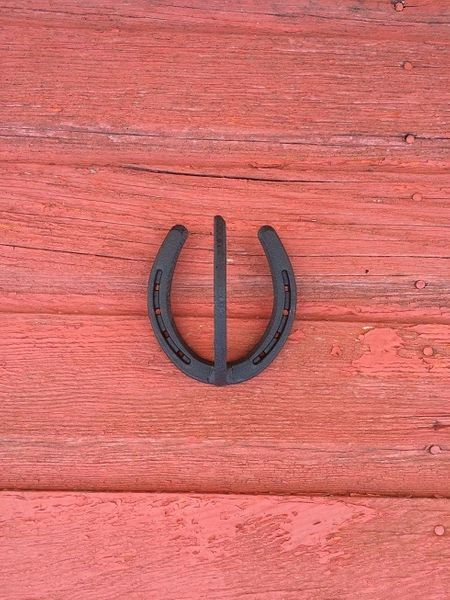 Single Horseshoe Coat Hook