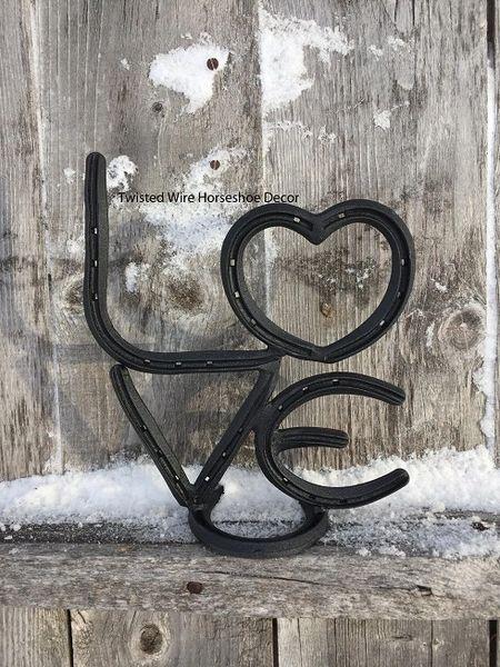Love sign - self standing