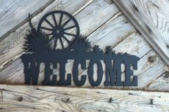 Wagon Wheel Welcome