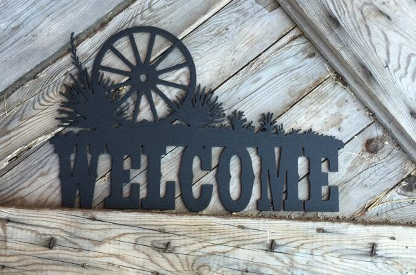 Wagon Wheel Welcome