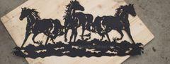 3 Running Horses