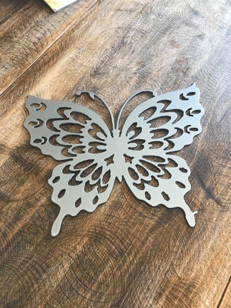 Open winged Butterfly
