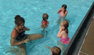 Swim Lessons Leistikow Park Outdoor Pool Grafton North Dakota Grafton Parks and Recreation