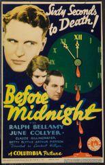 Before Midnight (1933) DVD
